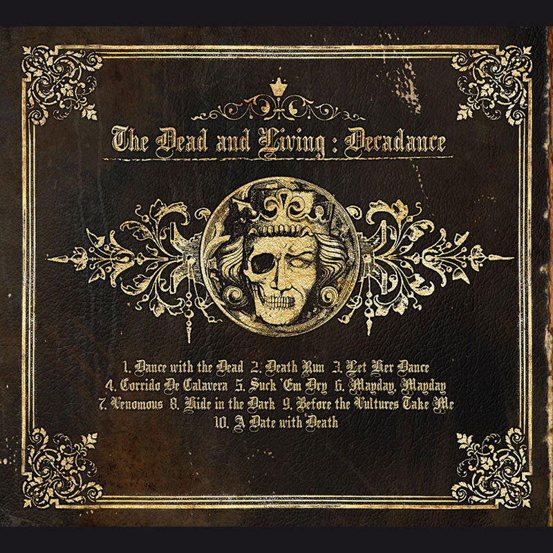 LIR001 The Dead And Living – Decadance (CD)