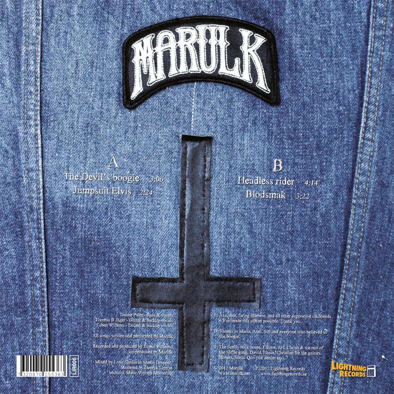 LIR006 Marulk – The Devil's Boogie (10″)