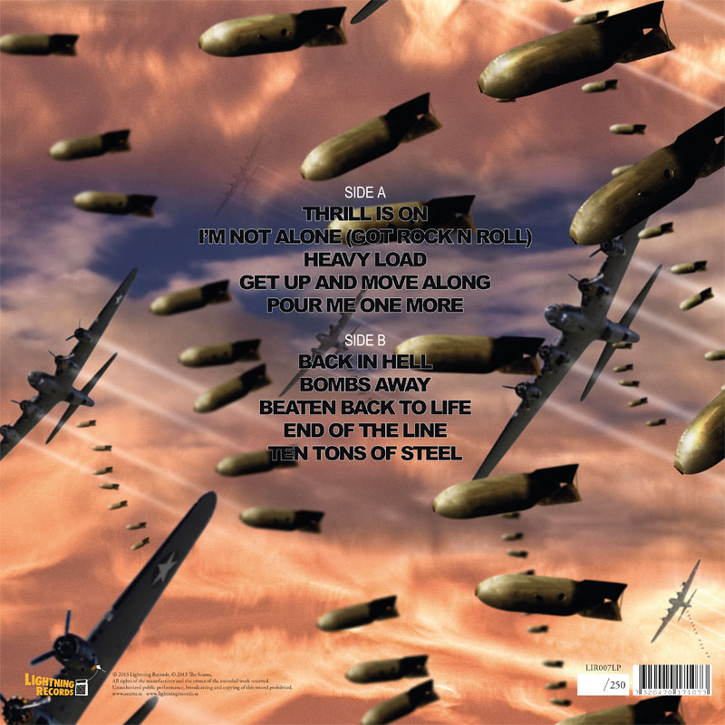 LIR007LP The Scams – Bombs Away