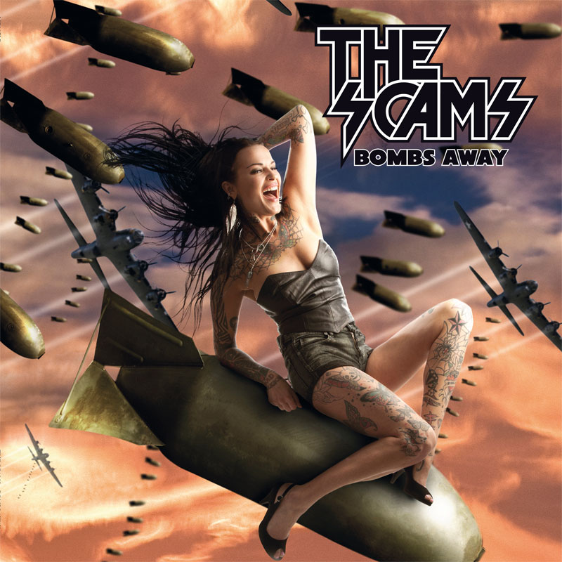 LIR007LP The Scams – Bombs Away (12″)