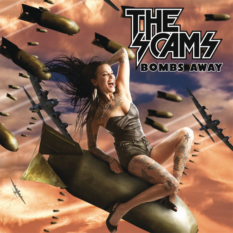 LIR007 The Scams – Bombs Away (CD)
