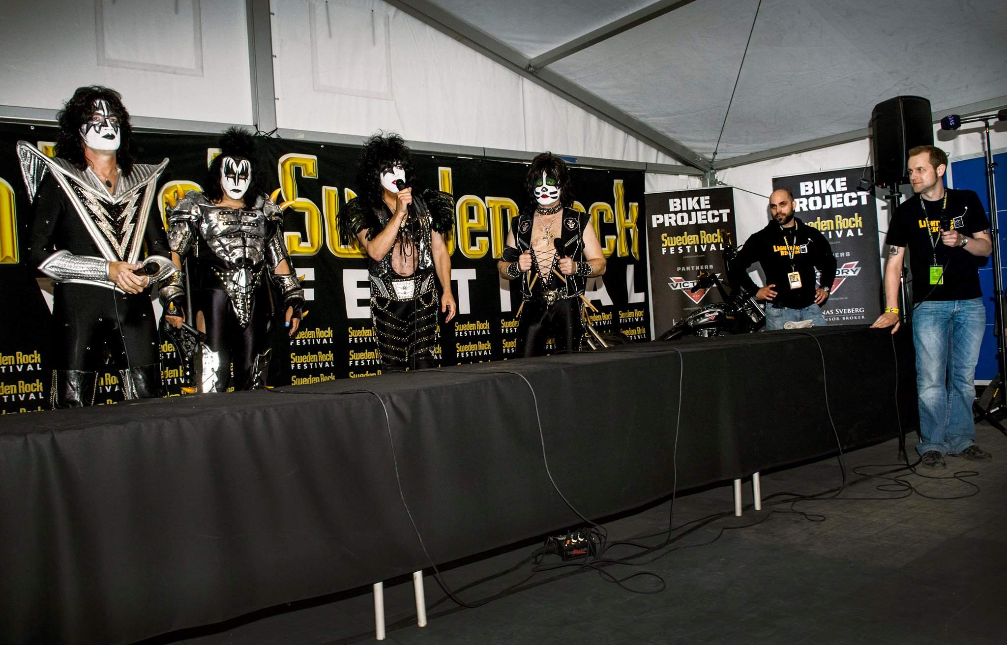 kiss-sweden-rock-festival-lightning-records