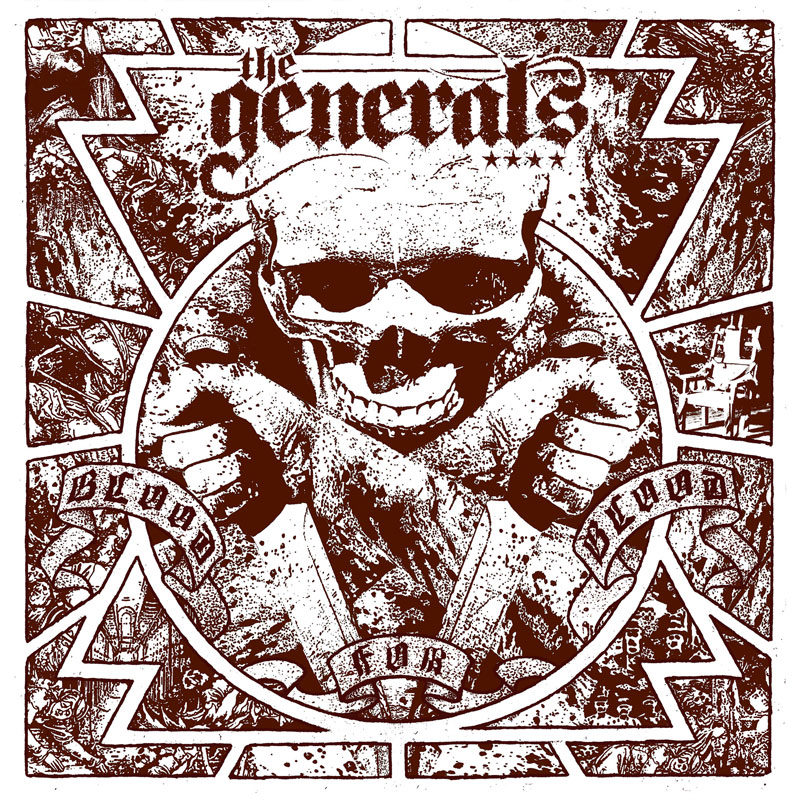 LIR010 The Generals – Blood For Blood (CD)