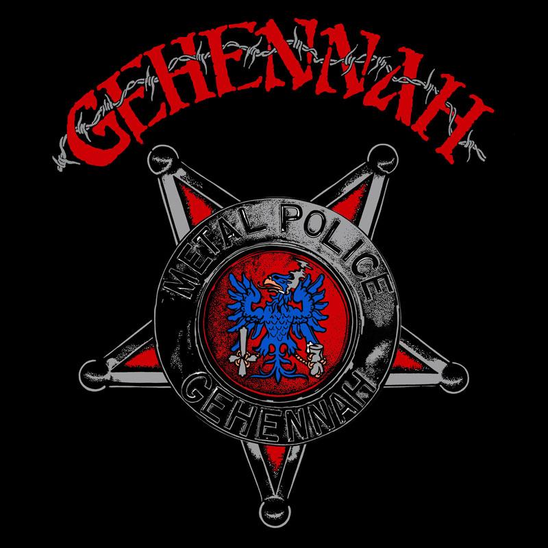 LIR011 Gehennah – Metal Police (7″)